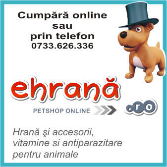 ehrana.ro este petshop online, livrare la domiciliu in toata tara