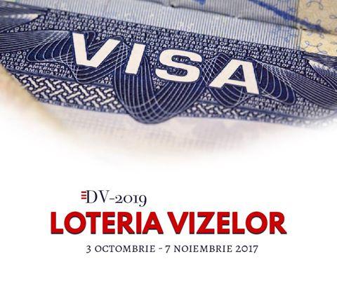 Loteria Vizelor Diversity Visa 2019
