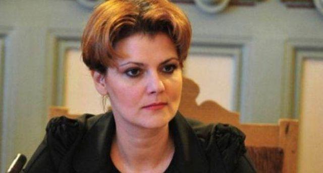 OLGUŢA VASILESCU părăsește Guvernul PSD