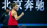 Simona Halep a declarat că a reușit un meci fantastic împotriva franțuzoaicei Caroline Garcia