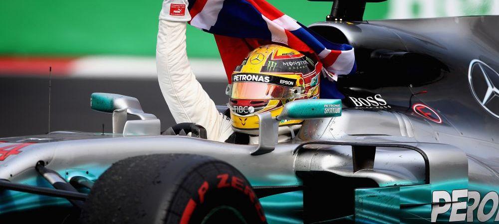 Lewis Hamilton a devenit pentru a 4-a oara campion mondial