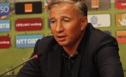 Dan Petrescu, antrenorul CFR-ului, a vorbit intr-o conferinta de presa.
