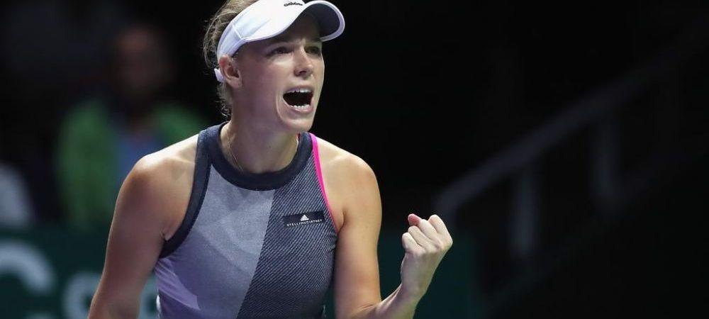 Wozniacki a castigat Turneul Campioanelor