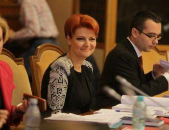 Olguţa Vasilescu a găsit vinovatii pentru scăderea salariului