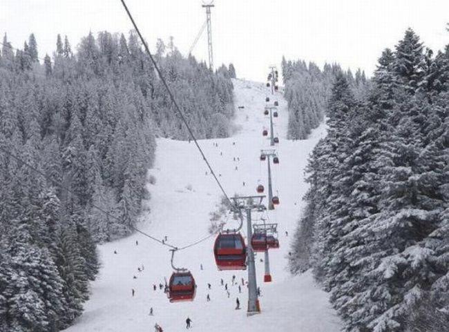 Se schiază în Poiana Brașov de 1 Decembrie