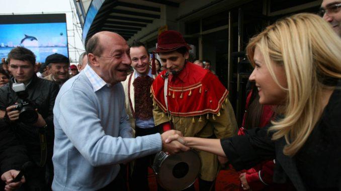 Unde au fost surprinși Udrea și Băsescu
