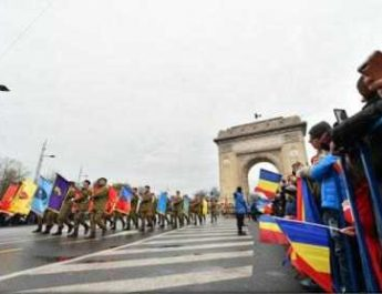 Parada de Ziua Națională de la Arcul de Triumf s-a încheiat