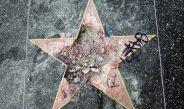 Aleea Vedetelor din Hollywood: Steaua lui Trump, distrusă