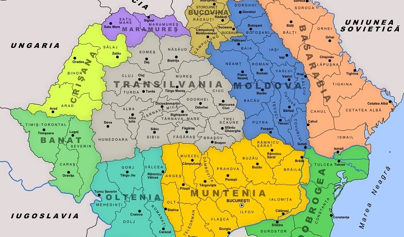 Centenar România – 1 Decembrie 1918 Marea Unire a Bucovinei cu Regatul României