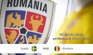 Suedia - România preliminarii EURO 2020 - bilete disponibile
