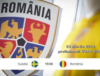 Suedia – România preliminarii EURO 2020 – bilete disponibile