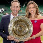 Lady Simona Halep  – dineul campionilor la Wimbledon 2019. Apariție senzațională
