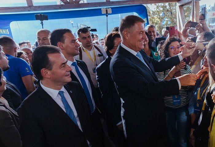 Ludovic Orban si Klaus Iohannis