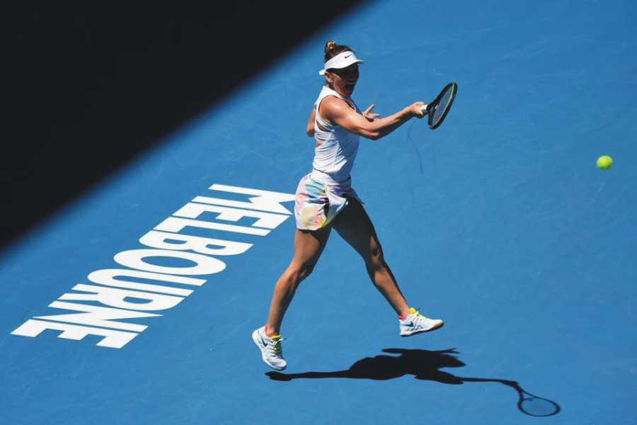 Simona Halep Australian Open. foto: Simona Halep @simonahalep - FB