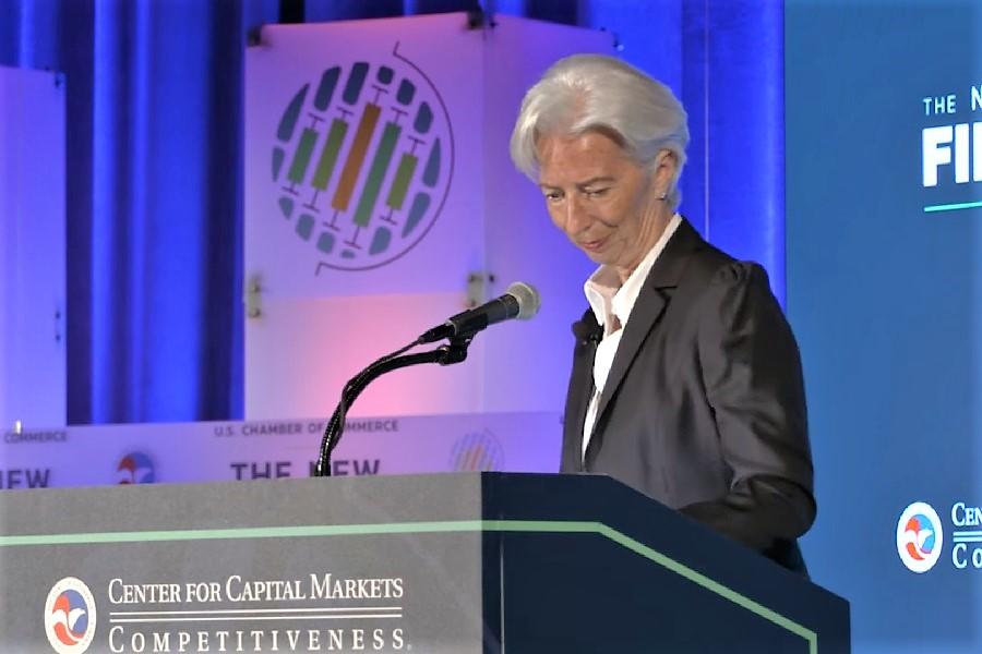 Christine Lagarde - previziuni pentru economia din zona euro, după pandemie
