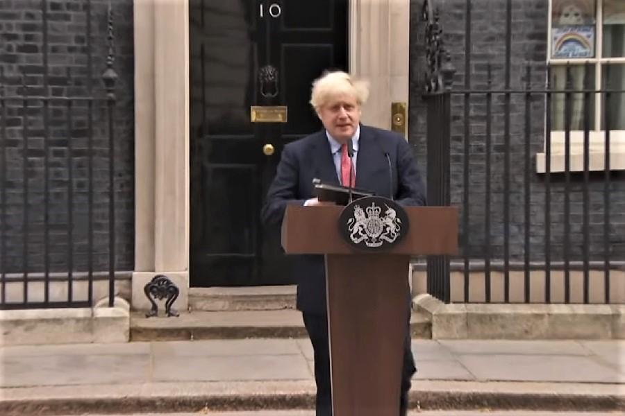 Boris Johnson este optimist, dar precaut: Am depășit vârful, dar al doilea val poate fi ca un munte