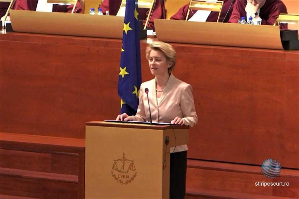 Ursula von der Leyen, preşedintele Comisei Europene (CE), a anunțat, miercuri, instituirea unui fond de relansare economică