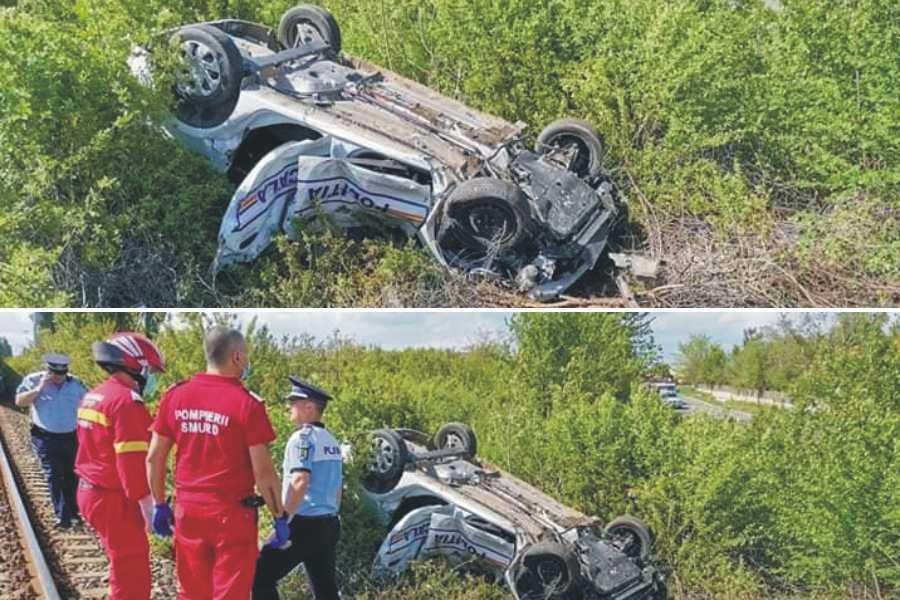 Polițist local decedat într-un accident de tren, în județul Prahova
