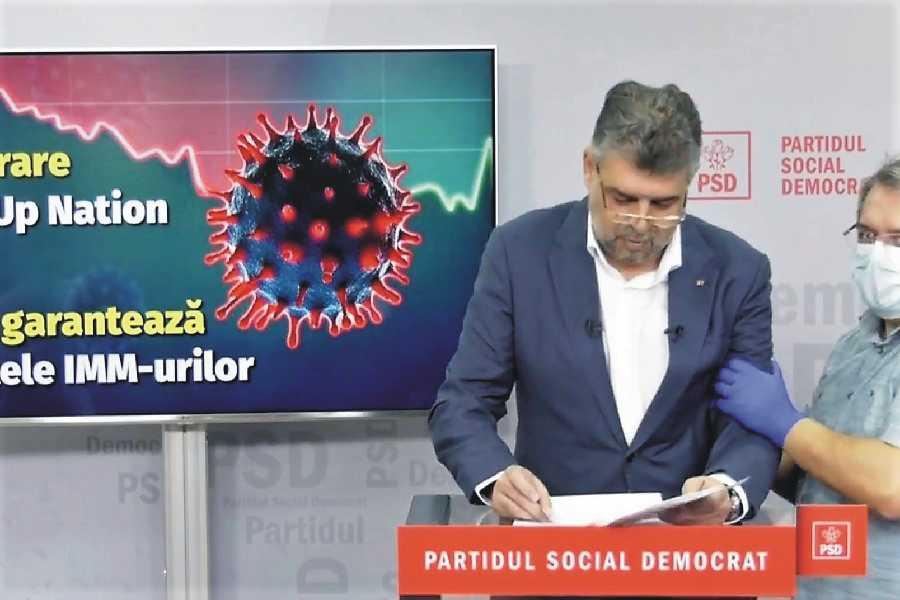 Lui Marcel Ciolacu i s-a făcut rău în conferința de presă - video
