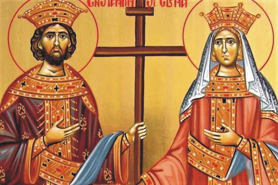 Sfinții Constantin și Elena - tradiţii şi obiceiuri în această zi de mare sărbătoare