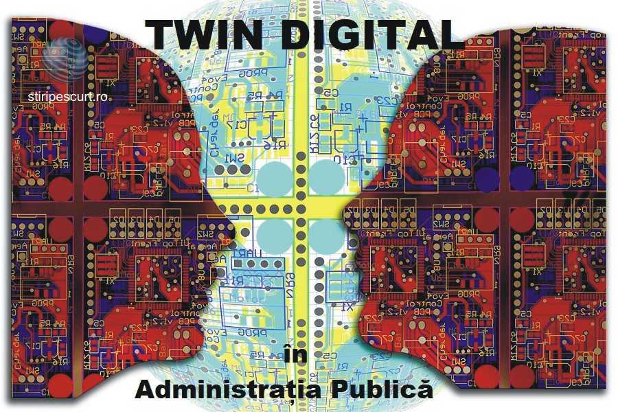 Tehnologia DIGITAL TWINS aplicată infrastructurii urbane de tip Smart City. Cât de utili sunt gemenii digitali pentru autorități publice