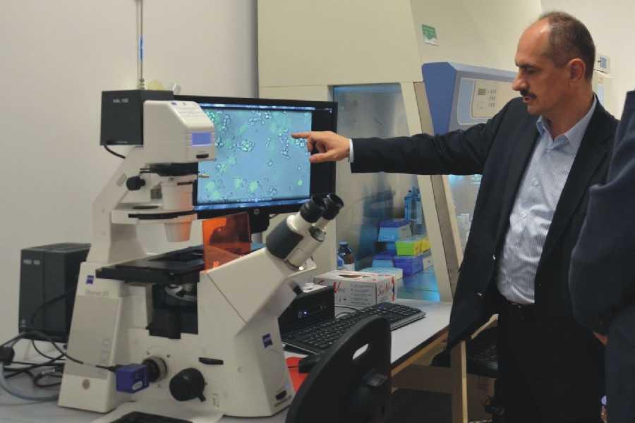 Directorul institutului de cercetare Oncogen, prof.univ.dr. Virgil Păunescu