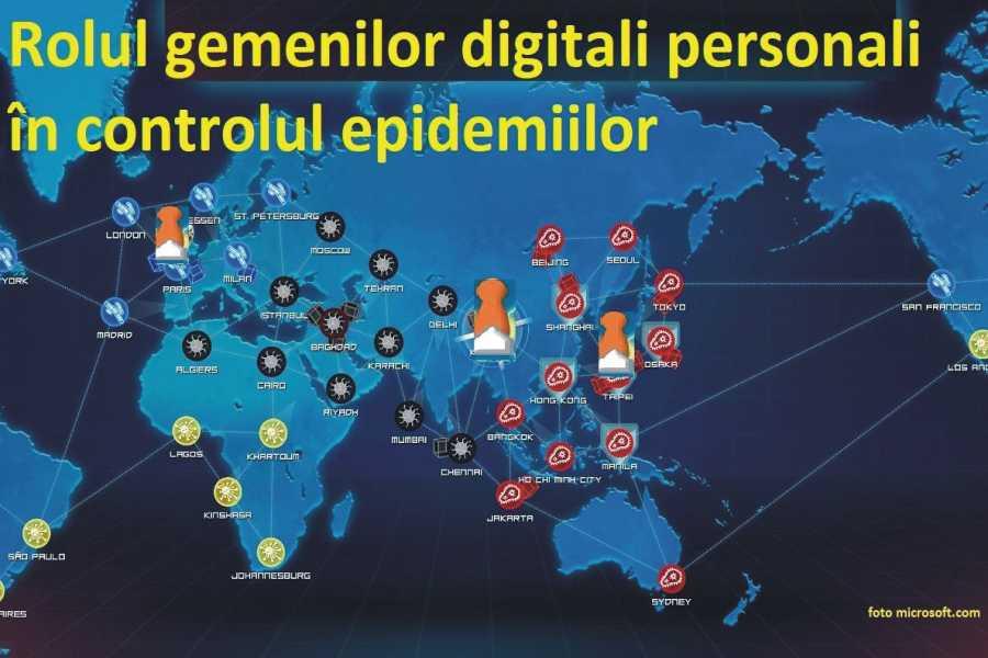 Rolul gemenilor digitali personali în controlul epidemiilor. Cum ne poate ajuta tehnologia Digital Twins în lupta împotriva virusului