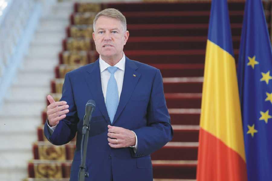 Klaus Iohannis a susținut luni, 4 mai 2020, la Palatul Cotroceni, o declarație de presă