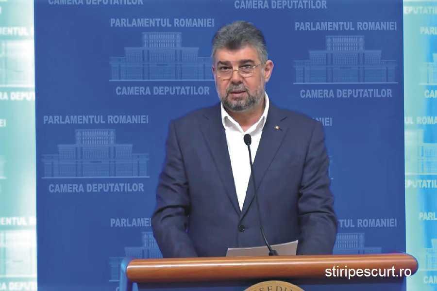 Marcel Ciolacu, a anunţat vineri, de 1 mai, că partidul pe care îl conduce va depune o plângere la Consiliul Naţional pentru Combaterea Discriminării (CNCD) împotriva preşedintelui Klaus Iohannis