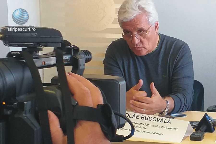 Nicolae Bucovală, prim-vicepreşedintele Federaţiei Patronatelor din Turismul Românesc (FTPR)