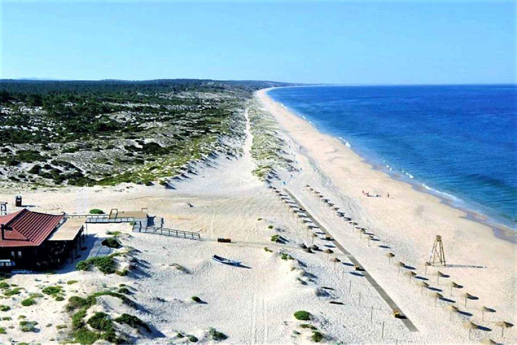 Vacanță 2020 - Cele mai sigure plaje din Europa: Comporta Alentejo - Portugalia