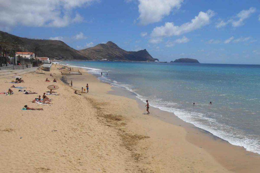 Vacanță 2020 - Cele mai sigure plaje din Europa: Porto Santo, Madeira - Portugalia