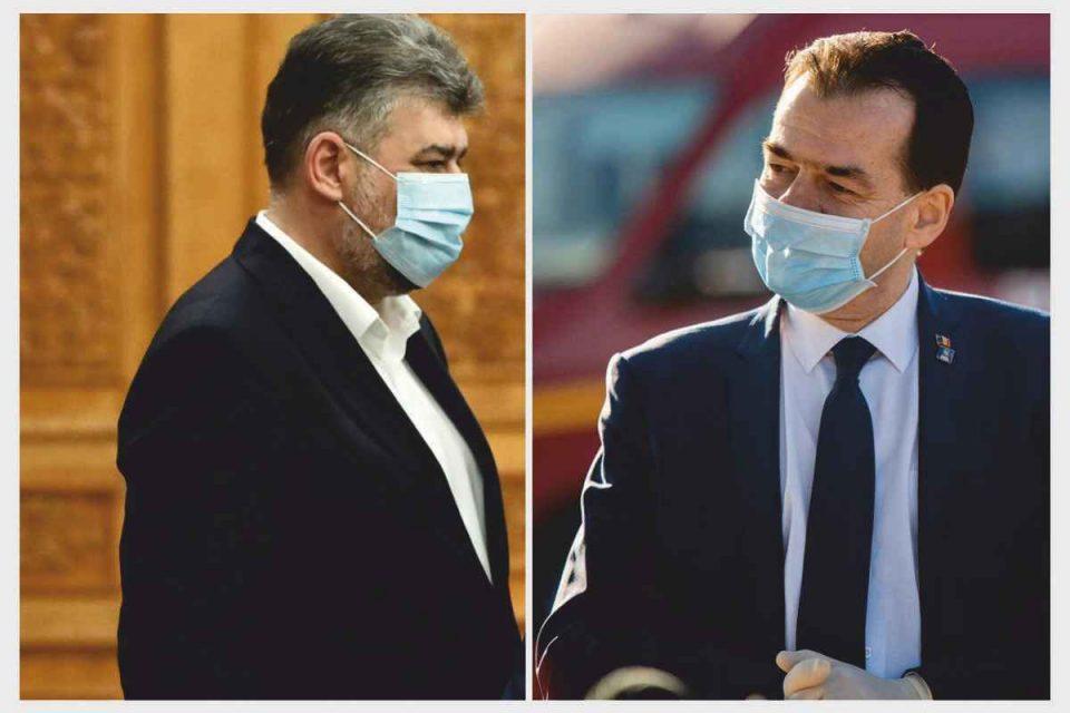 Prelungirea stării de alertă ar putea fi negociată direct Orban - Ciolacu
