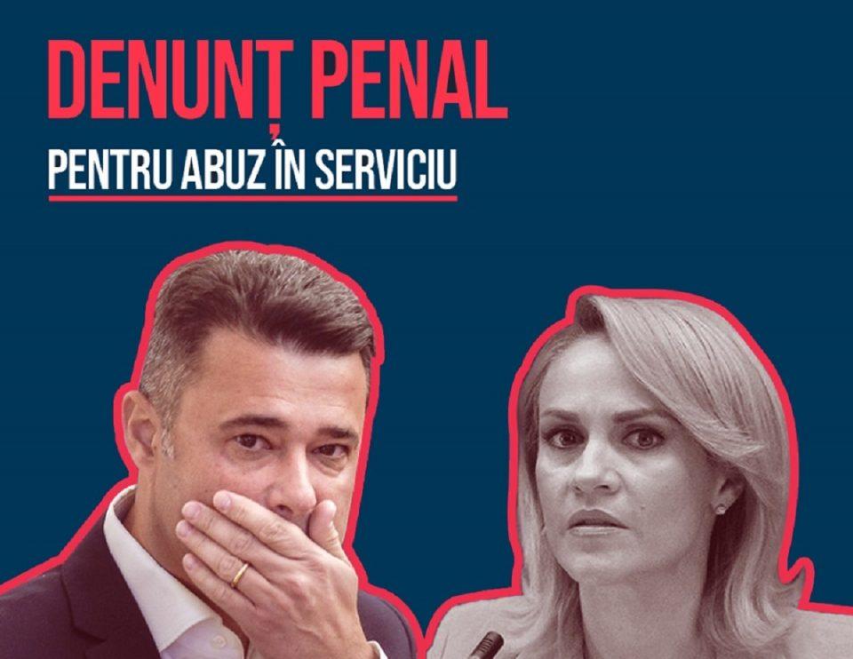 Denunț penal pentru Gabriela Firea și Daniel Florea
