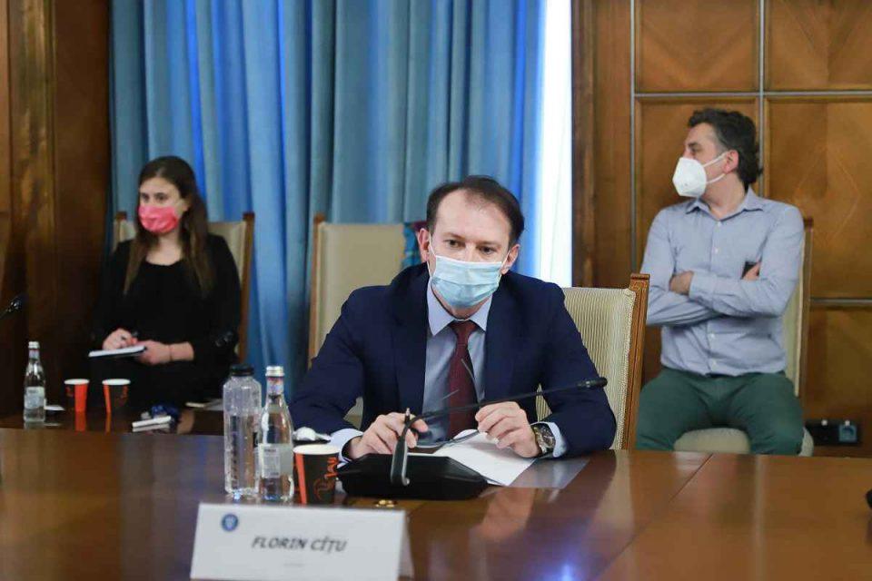 Florin Cîțu, ședință de Guvern