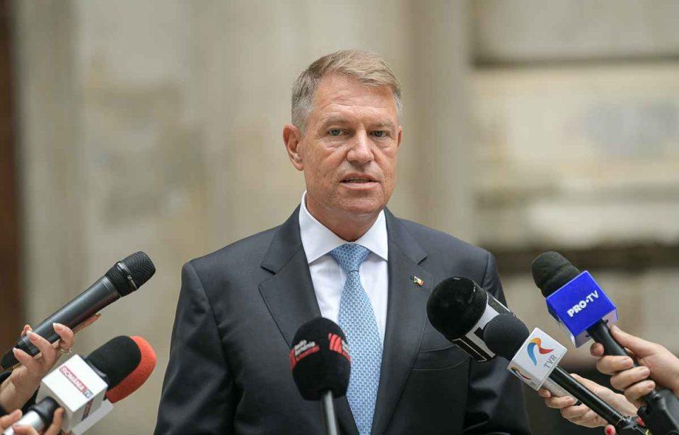 Klaus Iohannis atacă intenția PSD de a depune moțiune de cenzură