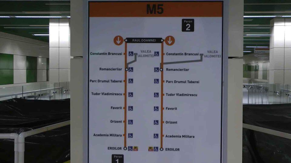VIDEO Stații de metrou finalizate pe magistrala M5 Drumul Taberei - Eroilor 2