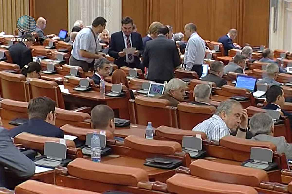 Parlamentul României, ședință plen