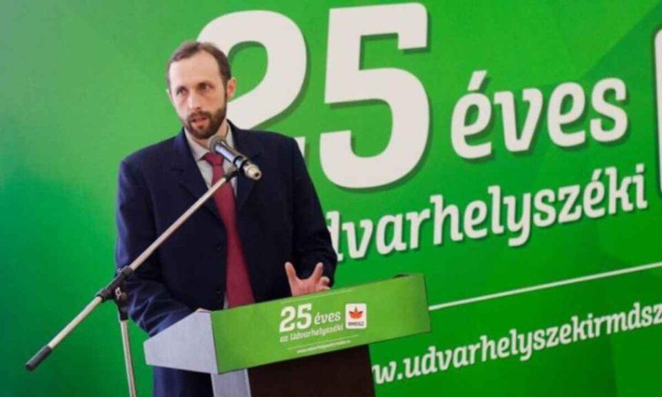 Primarul UDMR din Zetea, Attila Nagy - foto: facebook