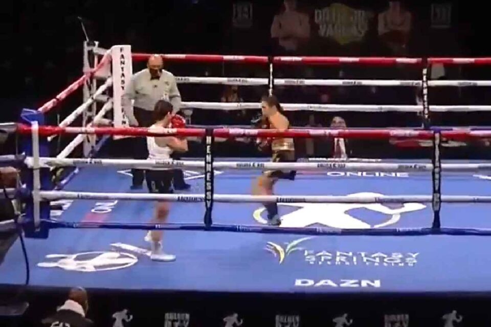 Record doborât - Cel mai rapid KO din boxul feminin