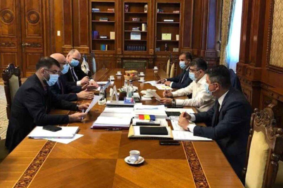 Întâlnire Marcel Ciolacu și Raed Arafat pe Legea Carantinei