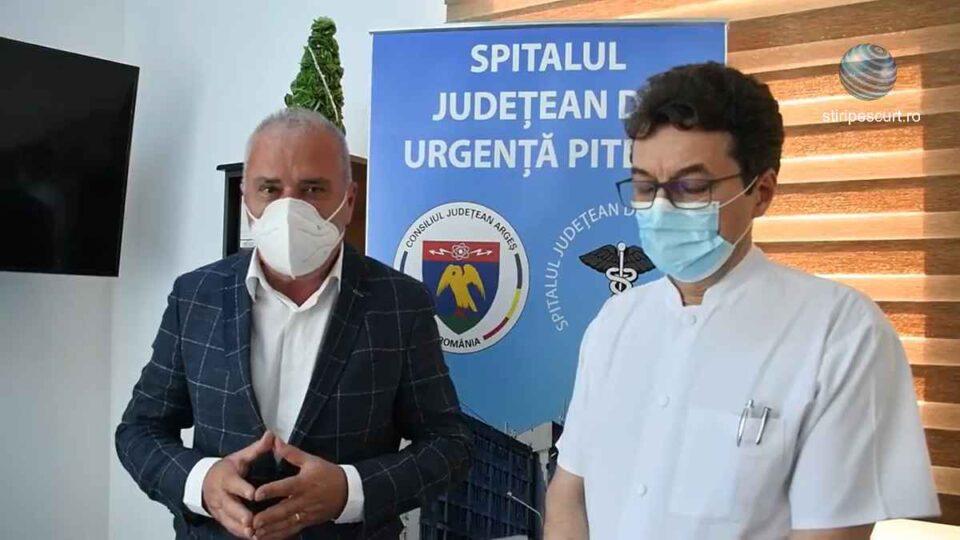 Președintele Consiliului Județean Argeș, Dan Manu, le transmite locuitorilor care contestă masca pe față că județul a ajuns într-o situație dramatică.