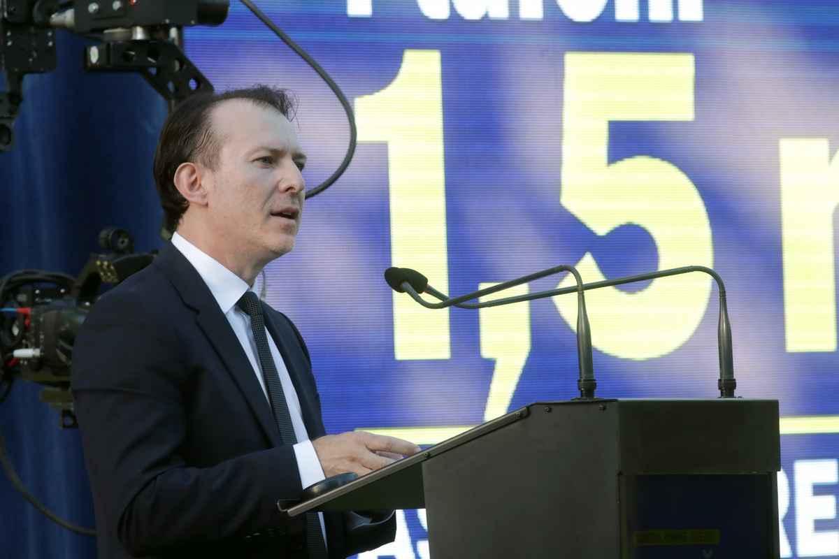 Florin Cîțu, ministrul Finanțelor Publice