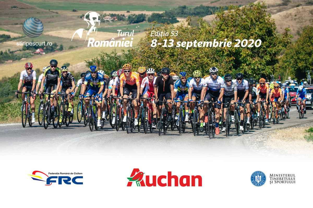 Turul României 2020 la ciclism și-a stabilit programul. Cinci zile de concurs în condiții speciale