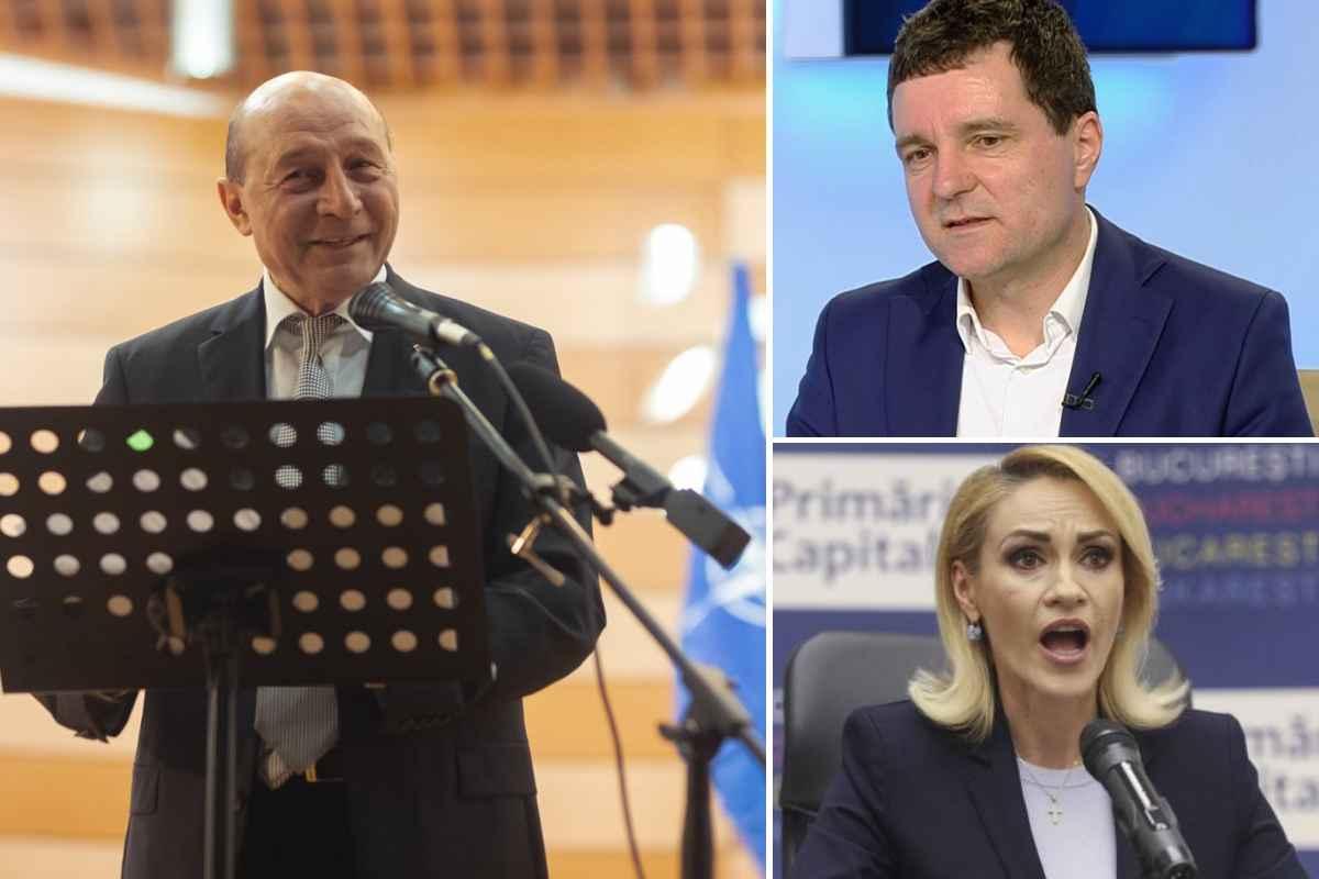 PNL și USR s-au înțeles... să piardă Bucureștiul. Traian Băsescu întră în competiție, Nicușor Dan va mai aștepta 4 ani