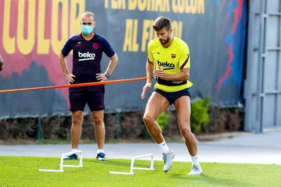 Gerard Piquet. foto FC Barcelona @fcbarcelona - facebook