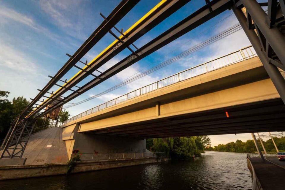 Podul Străulești a fost reabilitat în întregime