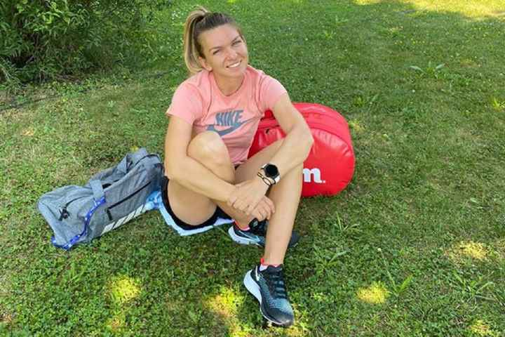 Simona Halep a ajuns la turneul de la Praga 2020. foto: facebook SimonaHalep