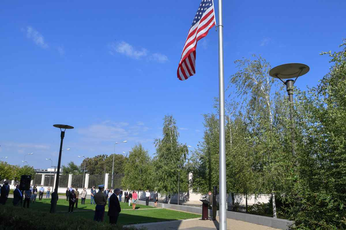 11 Septembrie, comemorare. foto: U.S. Embassy Bucharest