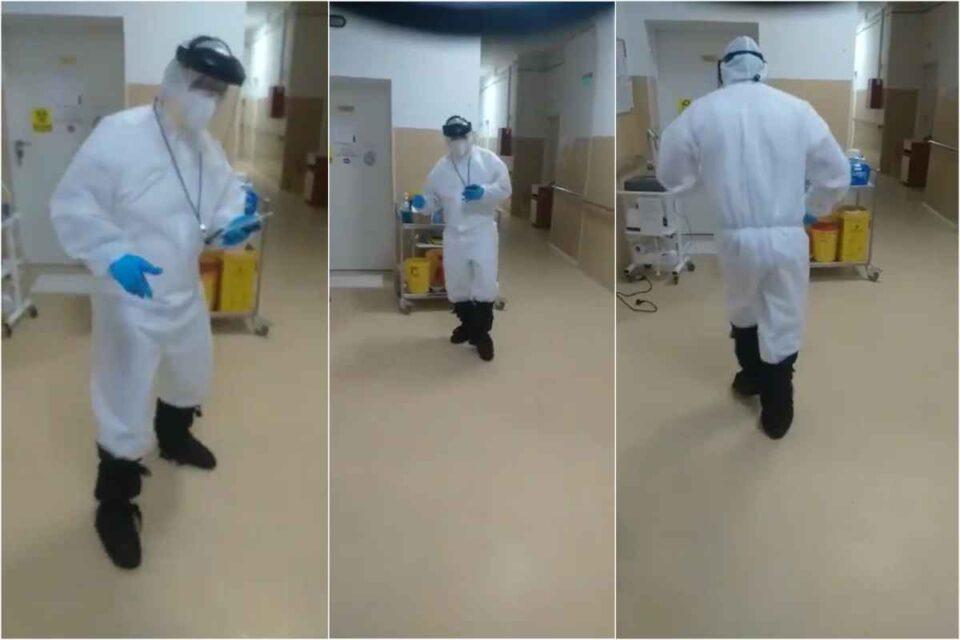 """Jerusalema Challenge aduce """" bucurie și speranță"""" la un spital din Sibiu - VIDEO"""